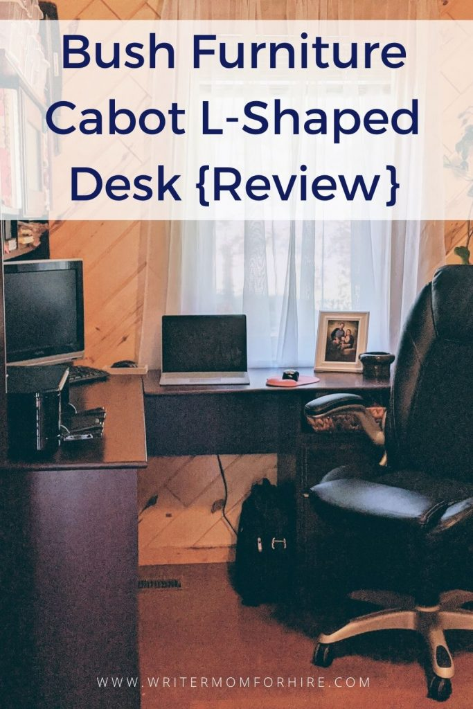 pin to share the review of the bush furniture cabot l shaped desk