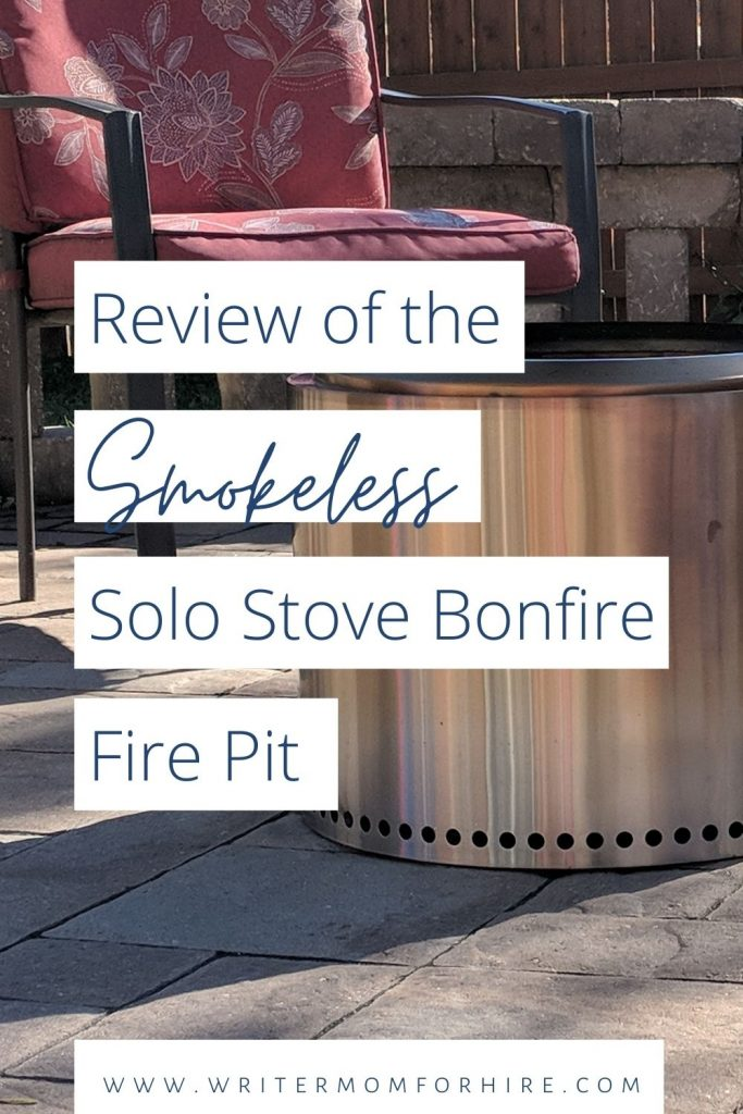 pin this image to share my solo stove bonfire review