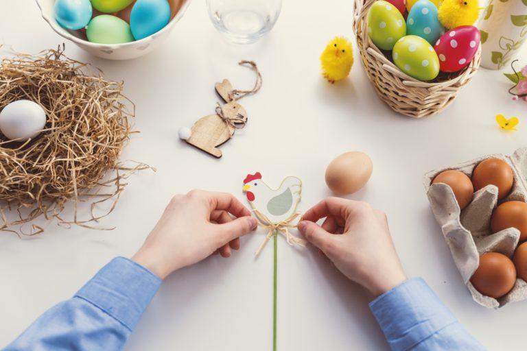 Easy Spring & Easter Crafts for Kids