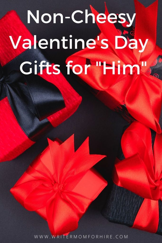 pin this image to share the list of non-cheesy valentine's day gifts for him