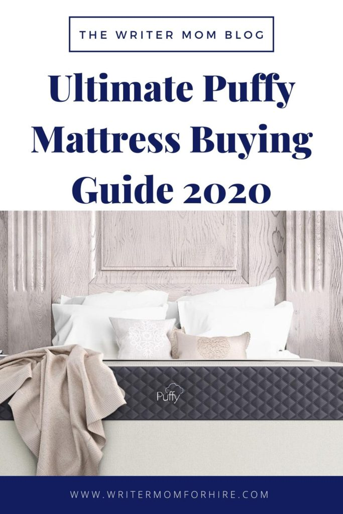 pinterest graphic | which puffy mattress should i buy?