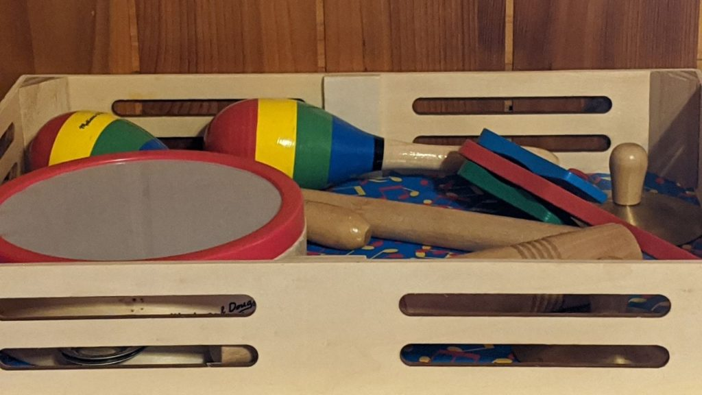 kids instruments, one of the best christmas gift ideas for preschoolers