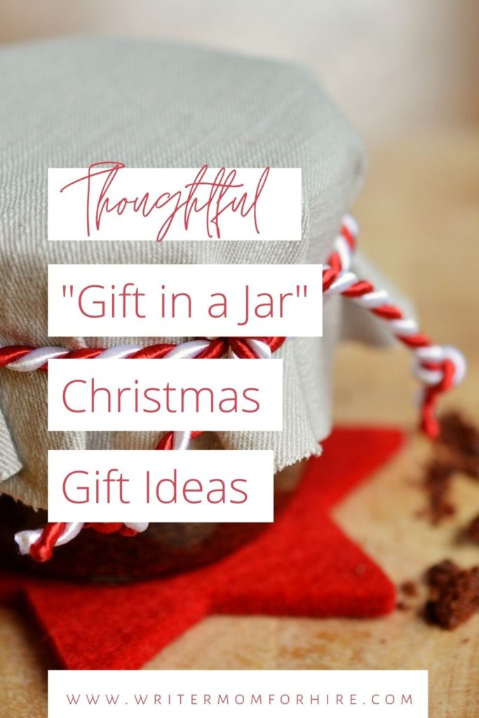 pin this image to share these Thoughtful DIY Gift in a Jar Ideas for Christmas
