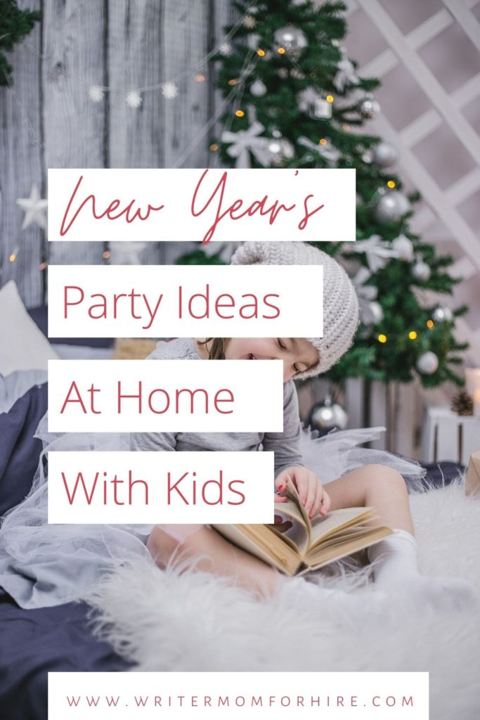 pin this graphic to share the new year's eve ideas at home
