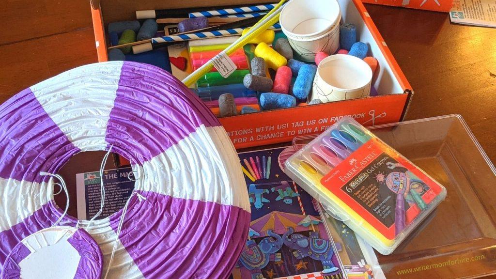 craft box supplies