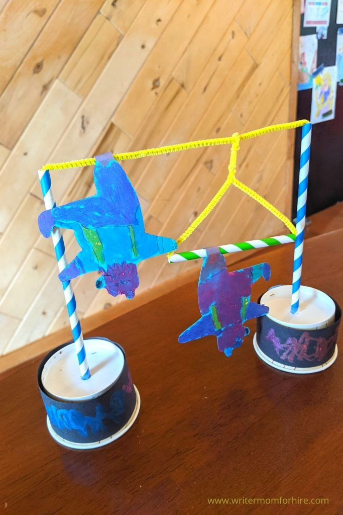 acrobatic bear craft