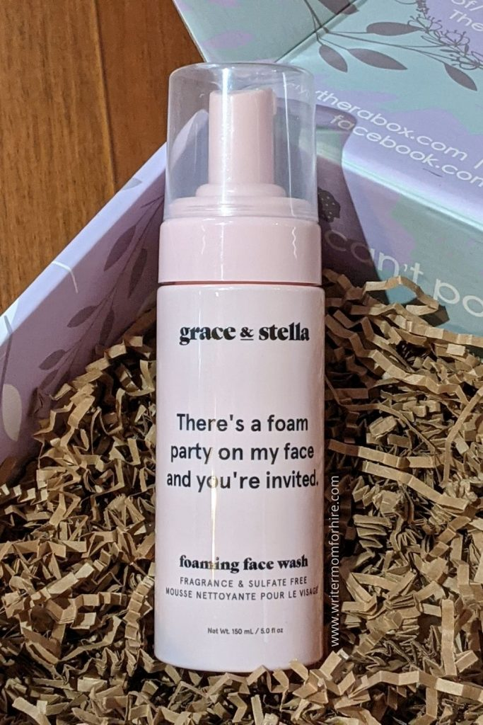 grace & stella foaming face wash