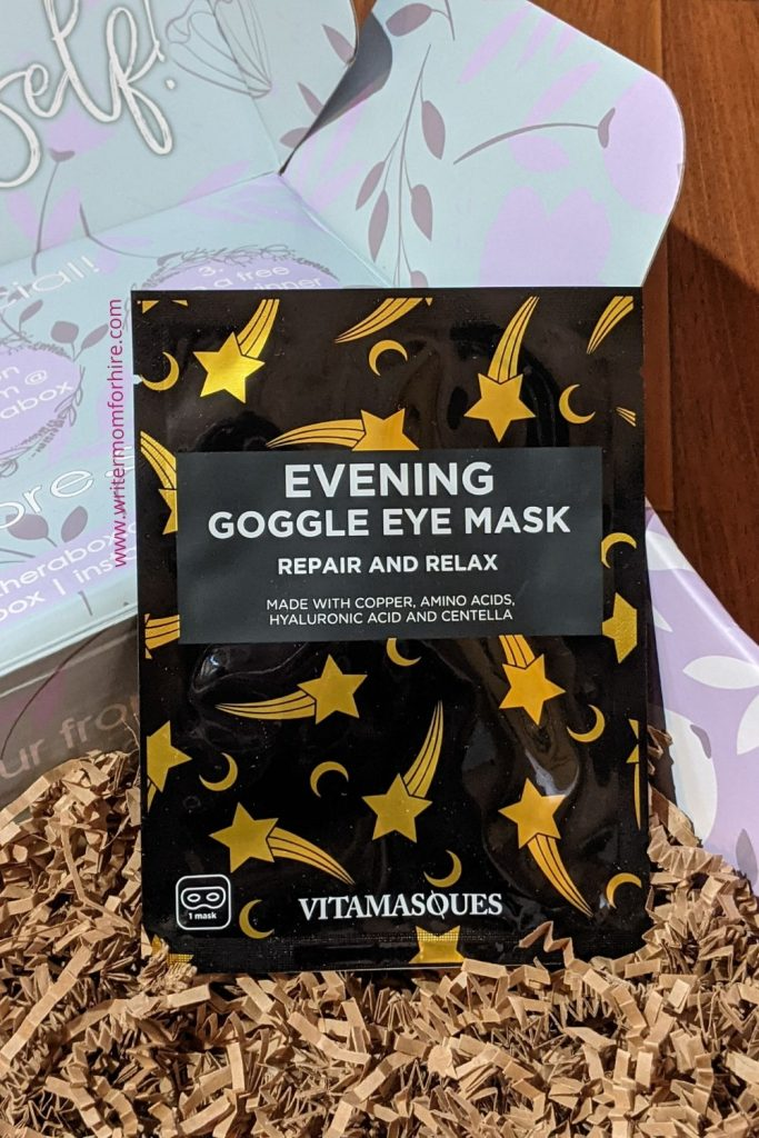 evening goggle eye mask