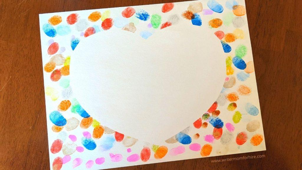 thumbprint art project