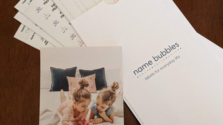 Name Bubbles Review: Personalized Name Labels for School, Daycare & More