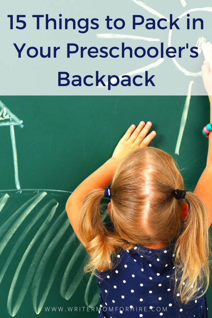 pin this image to share the preschool checklist for parents